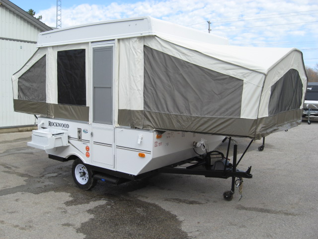 how to set up camper trailer tent